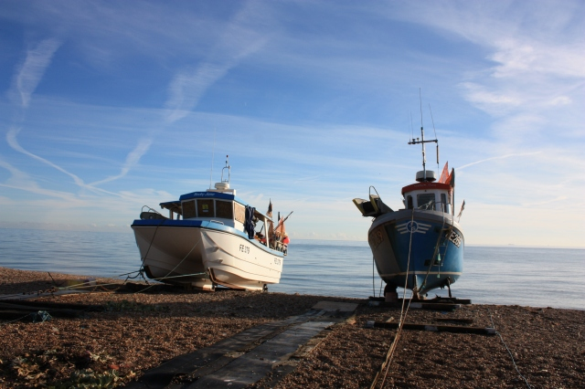 Fishing Boats at Hythe