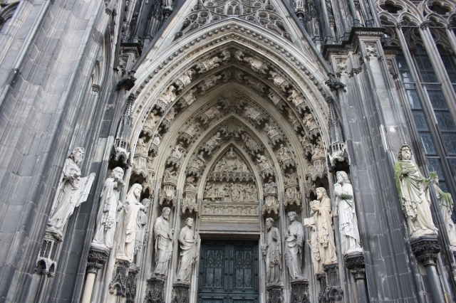 Cathedral Door, West Facade