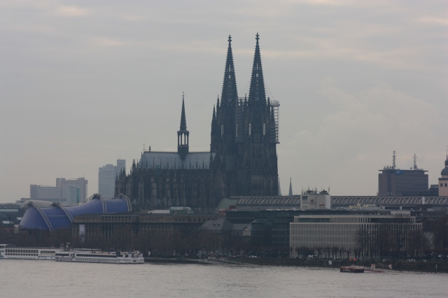 View from Zoobrücke