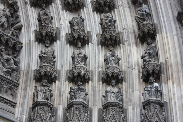 Cathedral North Facade Middle Door Detail