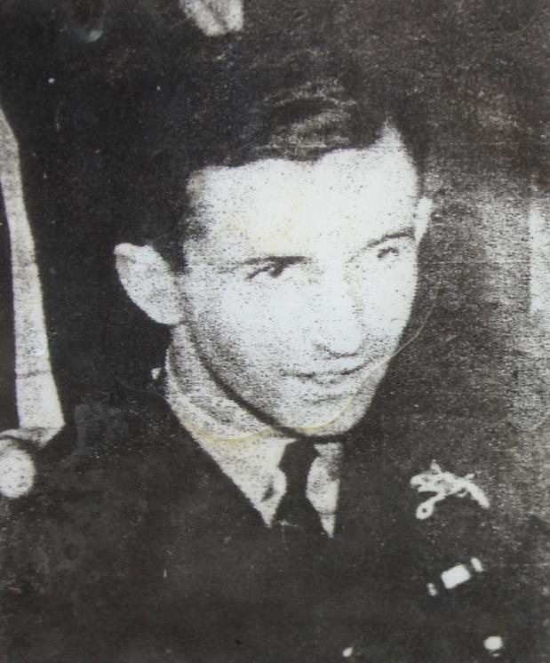 Polish Pilot Boguslaw Mierzwa