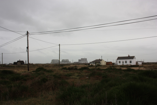Entering Dungeness