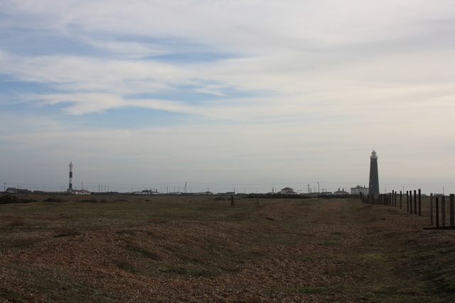 The New and Old Lighthouses of Dungeness