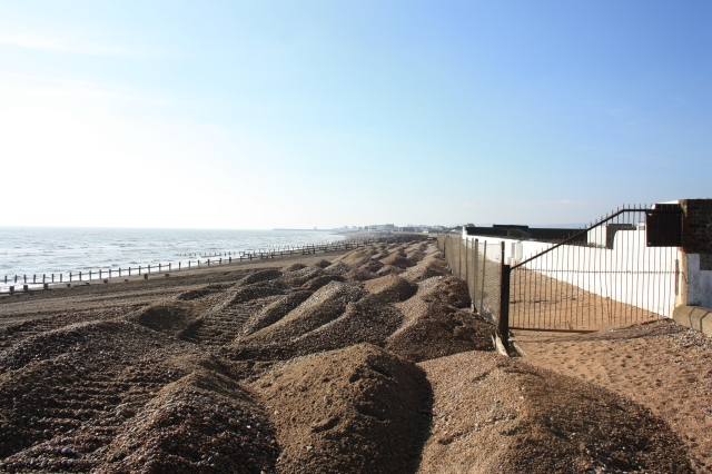 Tractor Mounds at Pevensey Bay