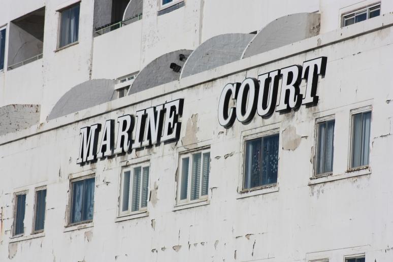 Peeling Paint of Marine Court