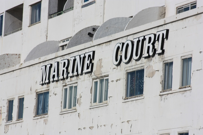 Peeling Paint of Marine Court