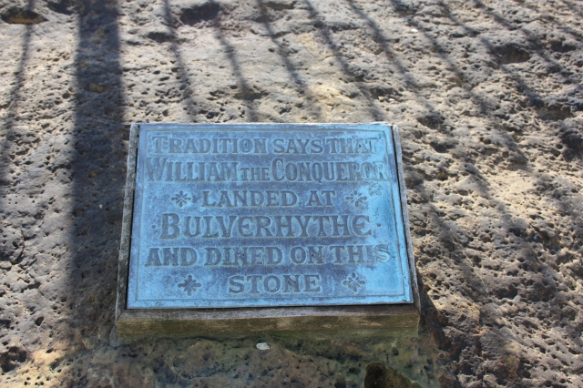 Plaque on William the Conqueror's Table
