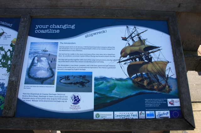 Bulverhythe Beach Information Board