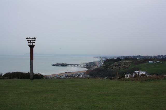 East Hill, Looking Towards Hastings