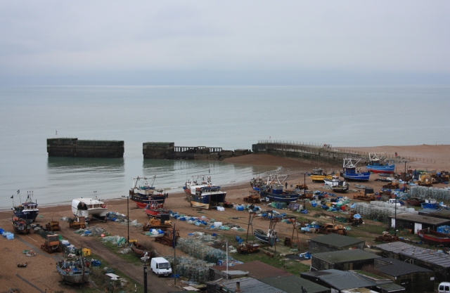 The Working Beach of Hastings