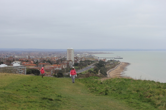 The Ascent of Eastbourne Downland