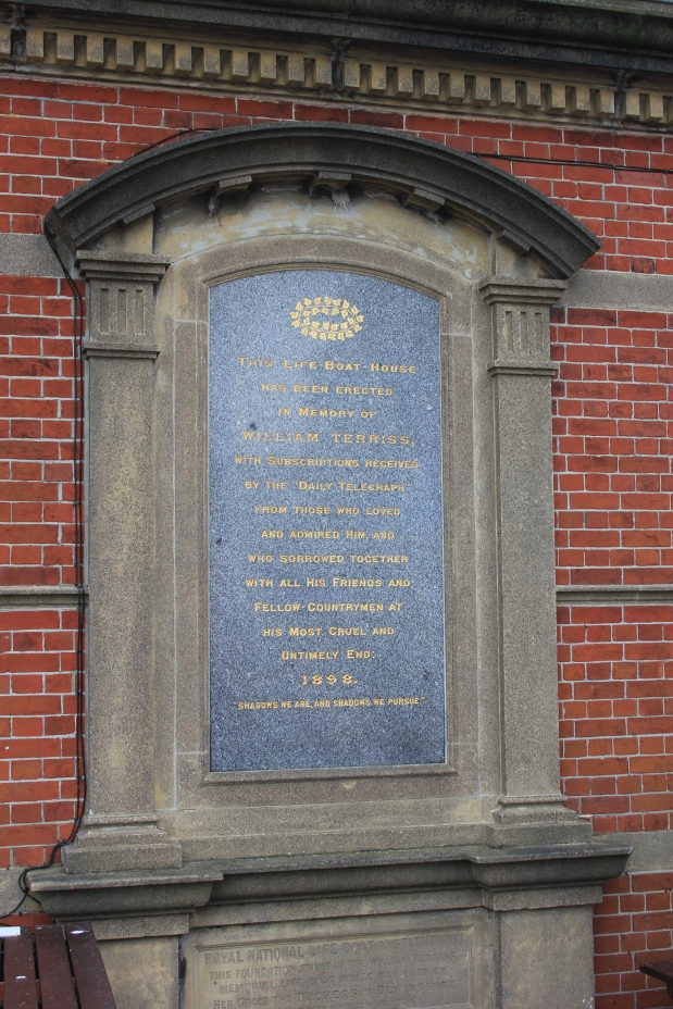 William Terriss Boathouse Plaque