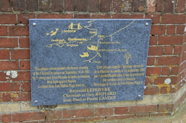 The Watch Tower Plaque