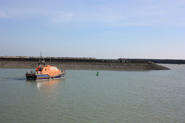 Lifeboat at Sovereign Harbour