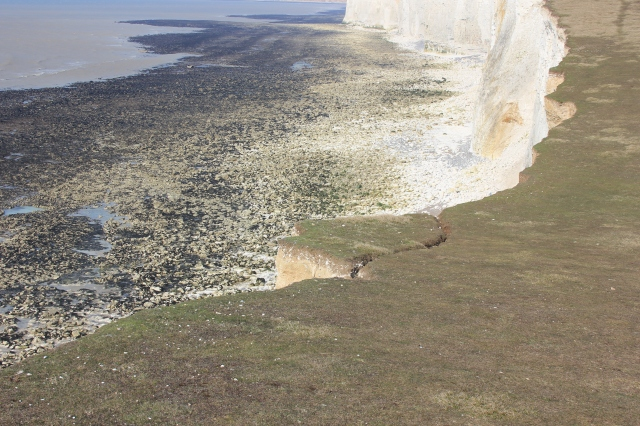 Erosion at the Seven Sisters