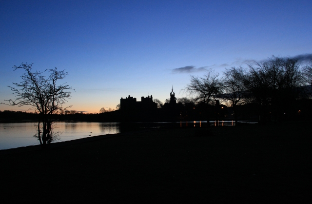 Linlithgow Loch and Palace