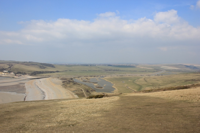 Cuckmere Haven and Exceat Bridge