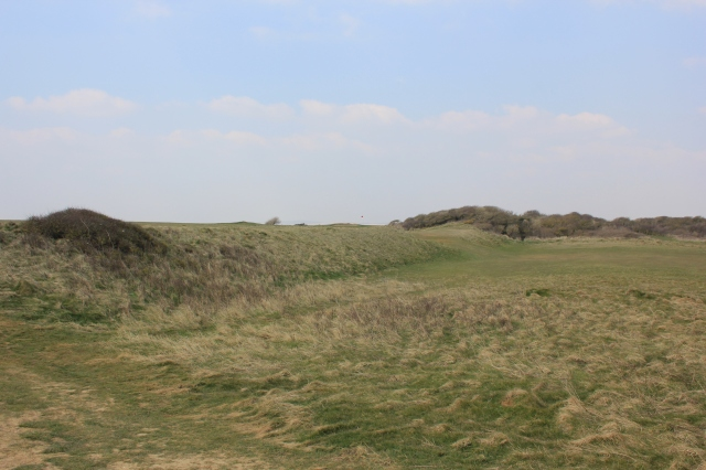 Ancient Walls of the Iron Age Fort at Seaford Head