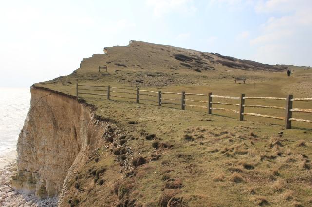 Hope Gap Cliff Edge