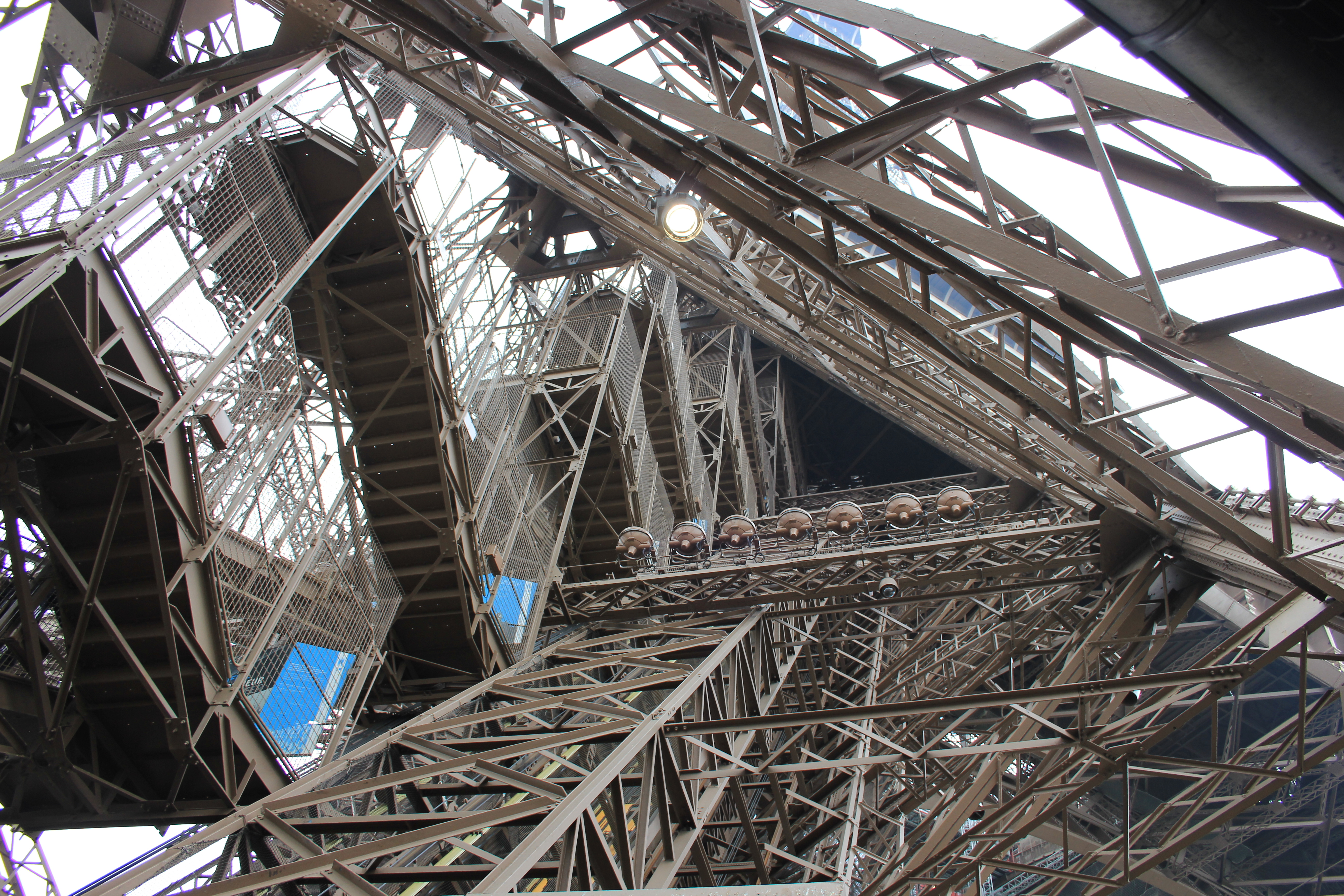 Top Of Eiffel Tower Stairs : The coastal path in paris eiffel tower