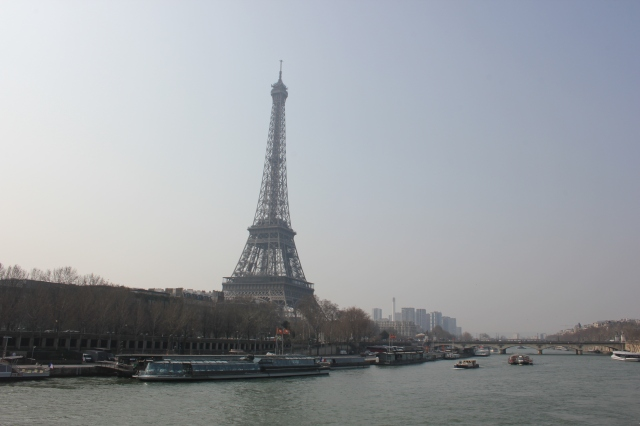 The Eiffel Tower from the Right Bank