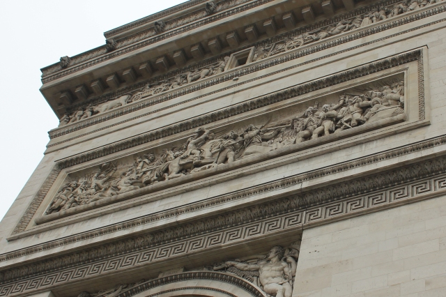 Arc de Triomphe Frieze