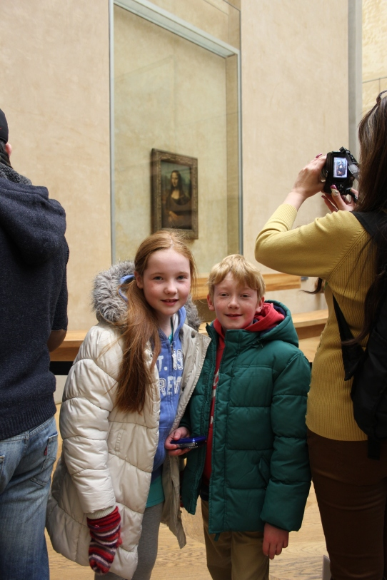 At the Mona Lisa