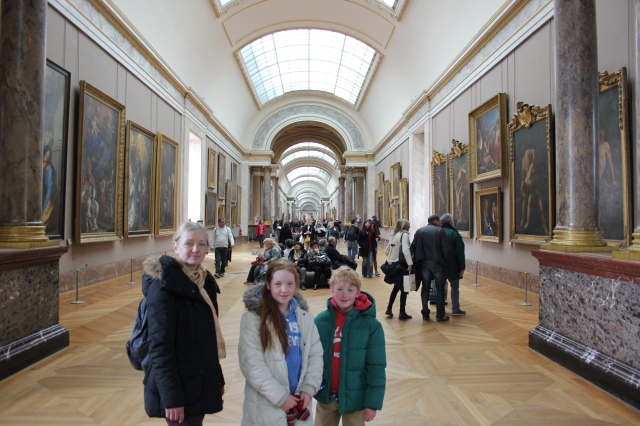 A Never-Ending Hall at the Louvre