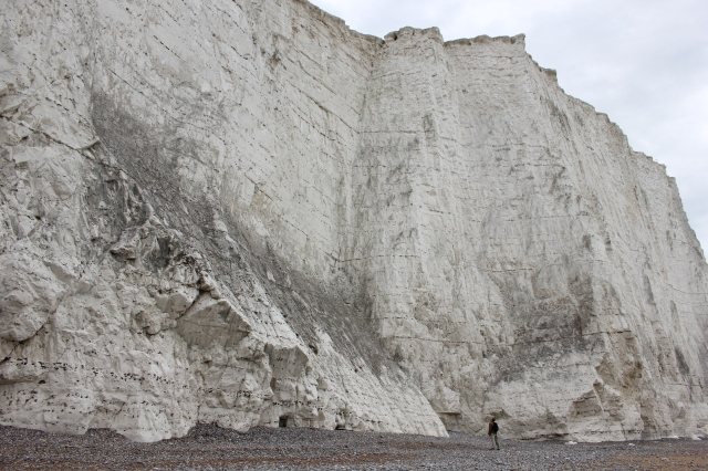 Flint LAyers in the Cliffs at Cuckmere Haven