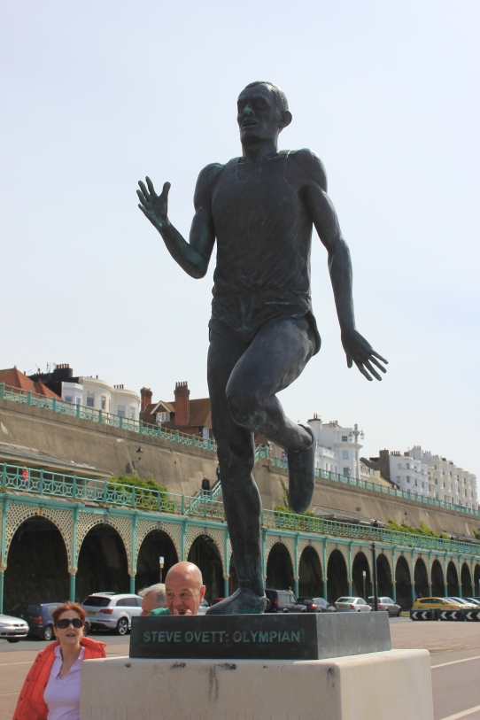 Steve Ovett Statue