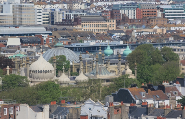 Royal Pavilion from the Brighton Wheel