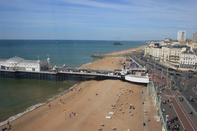 Brighton Beach from the Brighton Wheel