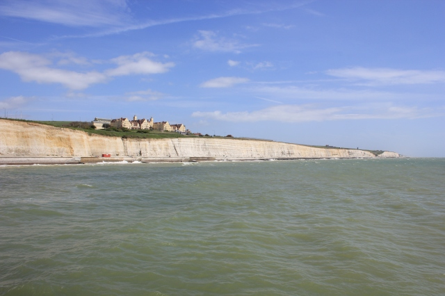 Looking back to Rottingdean and Roedean School