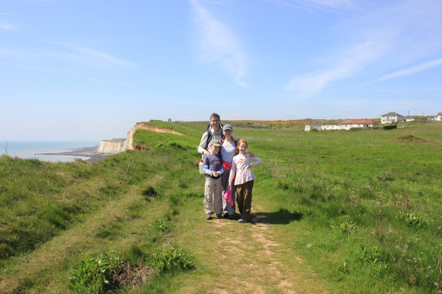 Clifftop Path between Newhaven and Peacehaven