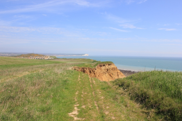 Erosion to the Clifftop Path
