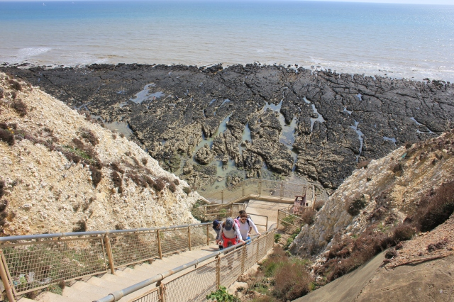 The Bastion Steps at Peacehaven