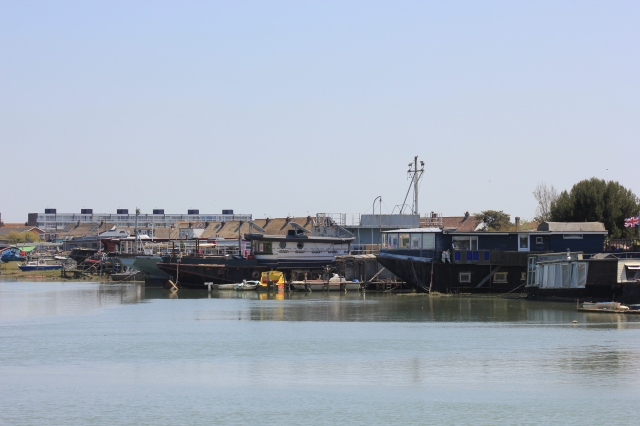Houseboats on the River Adur