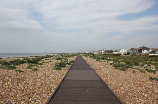 Boardwalk at Shoreham Beach