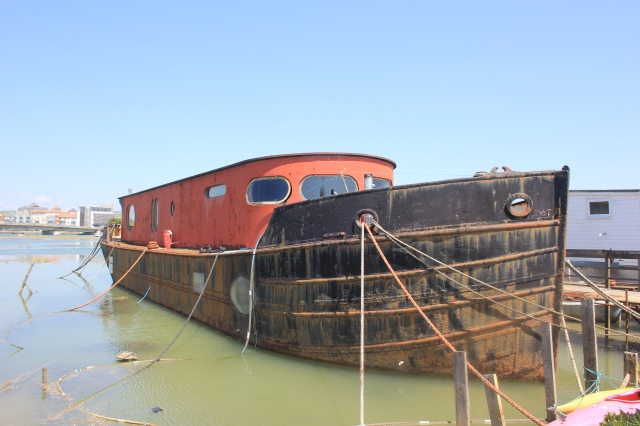 Houseboat on the River Adur