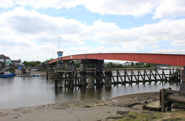 Footbridge over the River Arun