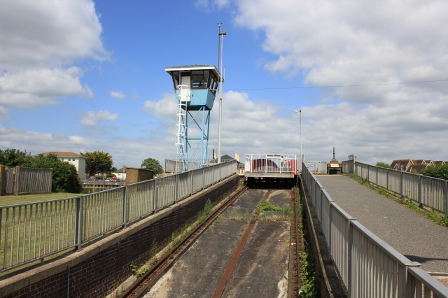 Rails of the Littlehampton Footbridge