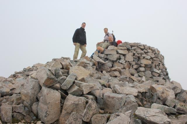 Summit of Beinn Liath Mhor