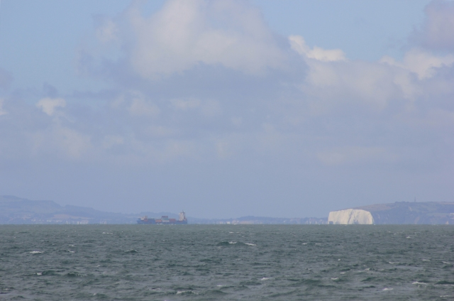 The Isle of Wight from Selsey