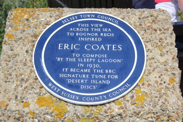 Eric Coates Plaque