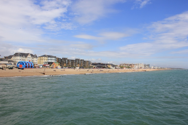 View East from Bognor Regis Pier