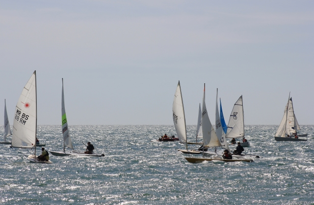 Race at Pagham Yacht Club