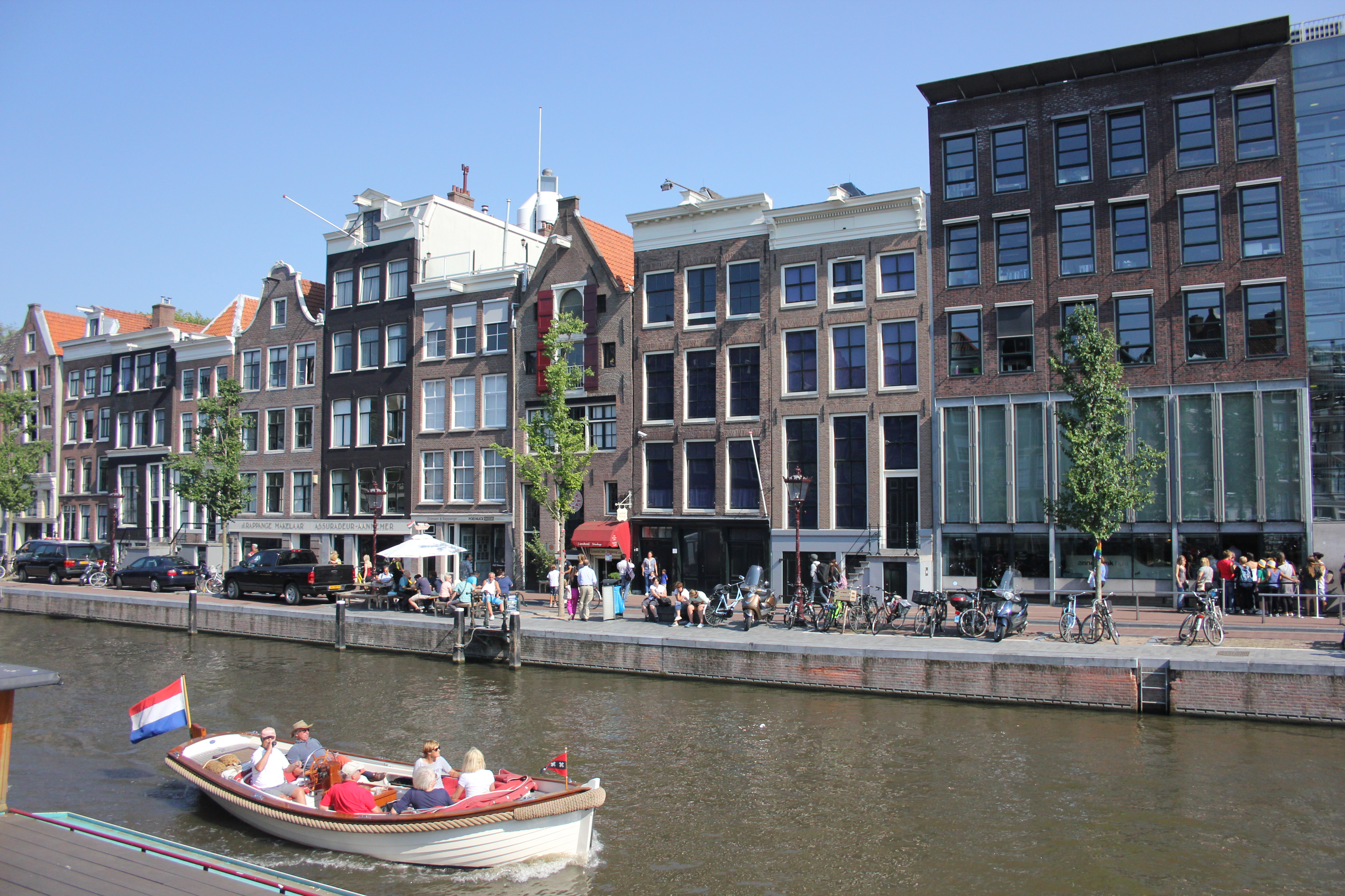The Coastal Path In Amsterdam Anne Frank Huis The