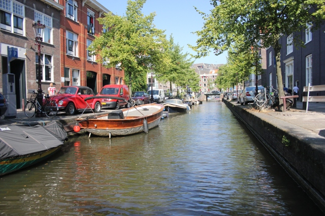 A Not-So-Beautiful Amsterdam Canal