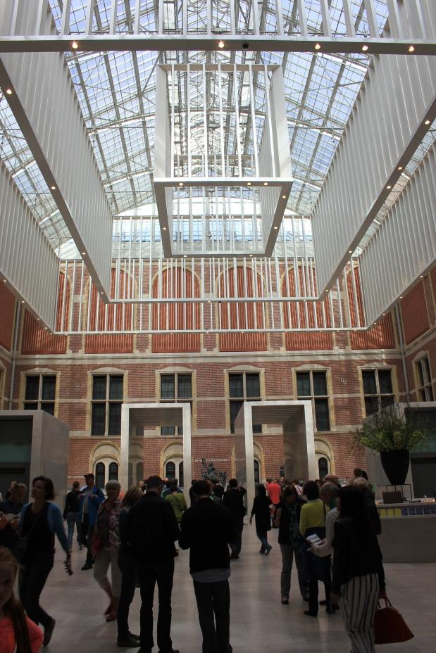 Rijksmuseum Entrance Lobby
