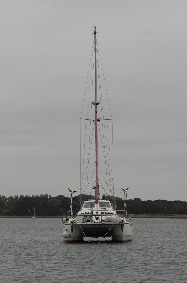 Yacht at East Head